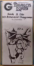 Grenadier Fantasy Lords - 337 Armoured Dragonmen x 20 Battleset (Mint, Sealed)