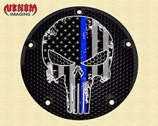 CUSTOM DERBY COVER FITS ALL HARLEY DAVIDSON BIG TWIN CAM SPORTSTER TOURING