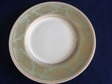 """Wedgwood Columbia sage green/gold 8 1/8"""" dessert plate (very minor scratches )"""
