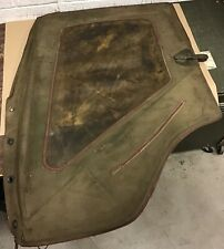 Military Jeep M-38 A1 Left Side Canvas Door N.O.S