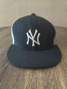 New York Yankees New Era 59Fifty Fitted Hat Cap Hat  7 1/2