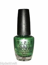New OPI Nail Polish VISIONS OF GEORGIA GREEN Coke Coca Cola Collection NL C93