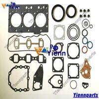 3TNE78 3D78AE-3B full overhaul gasket kit for Yanmar engine Komatsu 3TNE78AC
