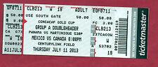 Orig.Ticket   CONCACAF Gold Cup USA 2013  PANAMA - MARTINIQUE / CANADA - MEXICO