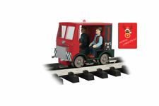 Bachmann G-Scale Powered & Lighted Speeder Christmas Red with Strobe #96255