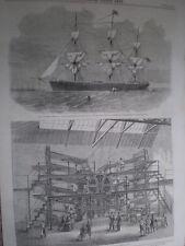 Daily Telegraph Imprenta máquina de impresión de 1860