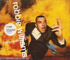 ROBBIE WILLIAMS - Millennium (UK 3 Trk CD Single Pt 2)