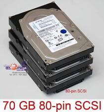 70gb servidor IBM iSeries disco duro hus151473vl3800 0b21001 97p3000 hdd#k701 SCSI