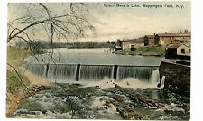 Wappingers Falls NY - UPPDER DAM & LAKE - ICE HOUSE - Postcard