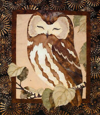 Whoo's The Cutest Owl Toni Whitney Bird Fusible Applique Quilt Pattern