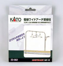 Kato N Scale Double Track Arched Catenary NEW 23-062