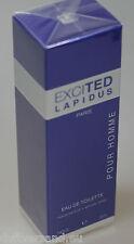 Ted Lapidus EXCITED Pour Homme 50 ml Eau de Toilette EdT Spray NEU / Folie