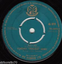 """CLARENCE """"FROGMAN"""" HENRY But I Do / Just My Baby And Me 45"""
