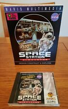 Space Station Simulator Retro PC Game - Nasa - Windows 95 - Big Box - 1996