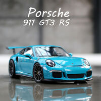 1:24 Scale Diecast Model Cars Porsche 911 GT3 RS 2016 Collectible Car By WELLY