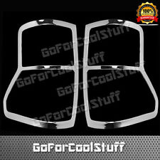For Toyota Tundra 2007-2009 Chrome Tail Lights Covers