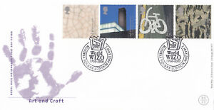 (05543) GB FDC Art & Craft World WIZO Russell Square London 2 May 2000