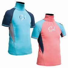 Gul Junior / Childs Short Sleeve Girls Rashvest Surfing / Sea / UV Protection