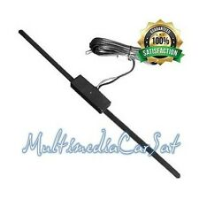 Antenna Radio Adesiva Autoradio Auto Universale Baffo Amplificata Elettronica*