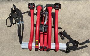 Saris Bones 3 Bike Trunk Mount Upright Rack Red