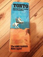 TONTO ACTION FIGURE FROM THE LONE RANGER SERIES BY MARX TOYS 1973 BOXED FEATHER