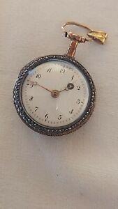 Ancienne montre coq or 18 carats