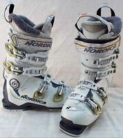 Nordica Speed Machine 95w Used Women's Ski Boots Size 23.5 #633586