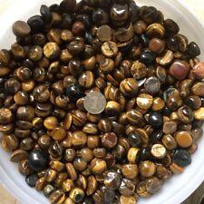 30g 8-15mm Round Tigereye Natural Quartz Crystal Stone Rock Chips Specimen