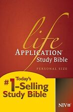 Life Application Study Bible NIV, Personal Size, New, Free Shipping