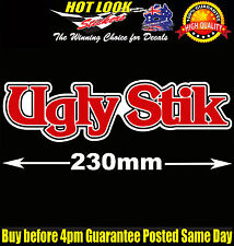 UGLY STIK Sticker Decal Suit Fishing Boat Rod Reel dinghy Lure tackle Box