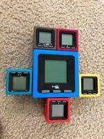 Radica Cube World Lot of 6 (Global Get-A-Way, Hans, Grinder, Dodger, Whip, Mic
