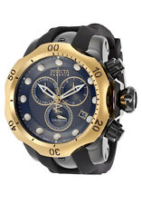 16154 Invicta Reserve 52mm Venom Swiss Chronograph Polyurethane Strap Watch