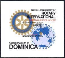 (Ref-11687) Dominica 1980 Rotary International M/Sheet Anniv. SG.MS705 Mint MNH