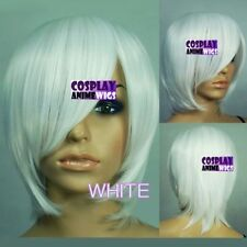 White Short Wigs & Hairpieces