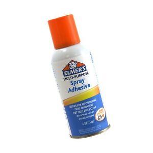 Elmer's Spray Adhesive, Multipurpose, 4 Ounces Multi-Purpose Standard Packaging