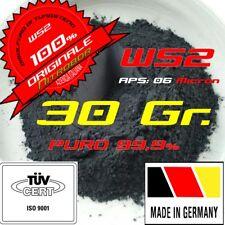Disolfuro di Tungsteno, WS2, Antiattrito olio,  NO Metabond, NO Ceratec, 30 gr.
