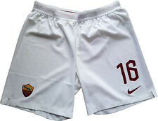 de rossi roma shorts player issue 2018 2019 player issue magazzino Authentic