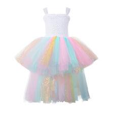 Girls Tutu Dress Handmade Tulle Dress Ball Gown for Halloween Christmas Party
