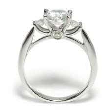 Diamond Beginning Engagement Semi-Mount Ring in 18k White Gold (.4 ct TDW)