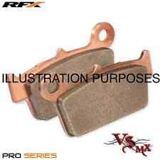 RFX PRO Series REAR Brake Pads HONDA CRF250X 04-16 SINTERED COPPER RACING