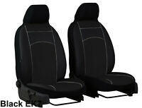 MAZDA MX-5 Mk3 2005-2015 ECO LEATHER FRONT TAILORED SEAT COVERS MADE TO MEASURE