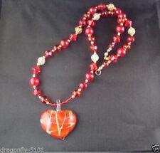 Handmade Glass Statement Costume Necklaces & Pendants