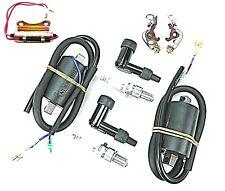 Honda CB CL SL 350 CJ 360 Twins Tune Up Kit Coils Caps Points Condenser Plugs