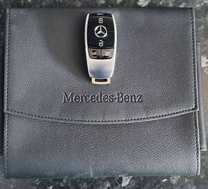 Mercedes Benz Manual Wallet And Smart Key Fob C E S class e220 car key