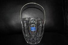 F B Rogers Ice Bucket 24% Lead Crystal West Germany NEW