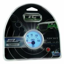 MANOMETRO TERMOMETRO OLIO 52MM LED BLU TUNING AUTO STRUMENTO TEMPERATURA PRECISO