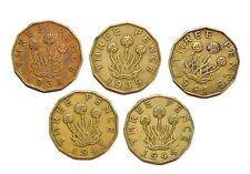 1937 - 1944 GREAT BRITAIN THREEPENCE lot vintage UK coins world set WWII ERA