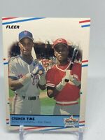 "1988 Fleer Darryl Strawberry/Eric Davis ""Crunch Time"" Super Star Specials #637"