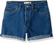 Levi's Girls' High Rise Denim Shorty Shorts