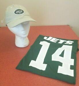 New York Jets NFL Nike Classic Green Sam Donald #14 XL T-Shirt & Cap